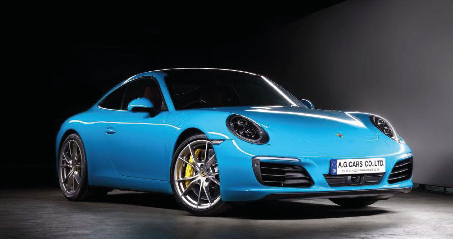 911 Porsche Carrera S miami Blue
