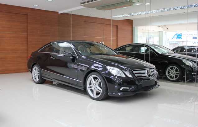 MERCEDES BENZ E250 CGI SPORT COUPE