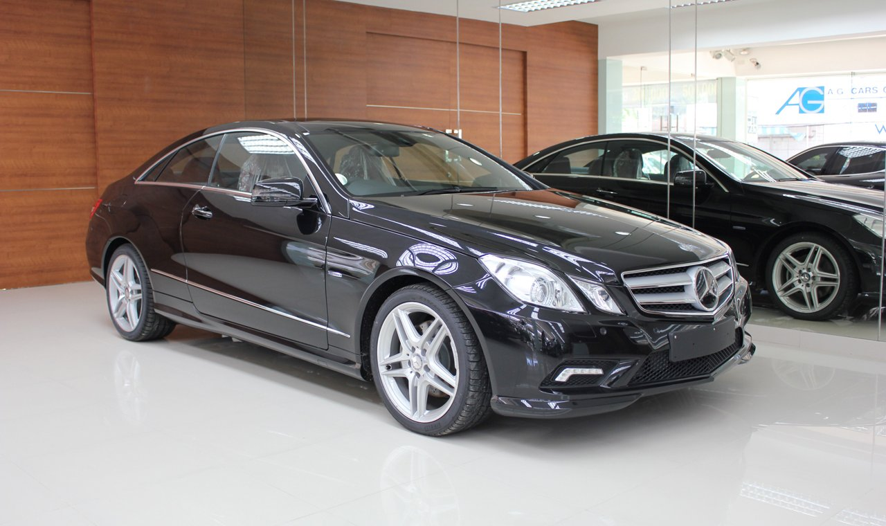 MERCEDES BENZ E250 CGI SPORT COUPE <MD Spec>