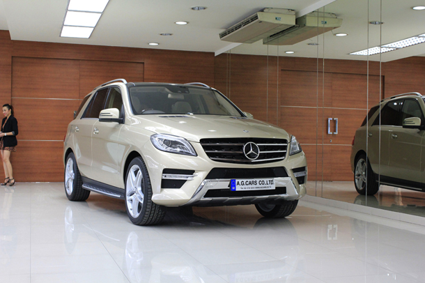 Benz ML 250 BlueTEC Sport