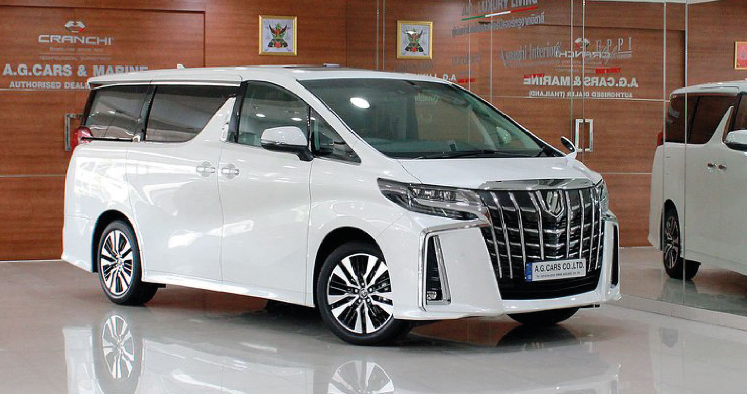 Toyota Alphard SC Package 2.5 White Pearl