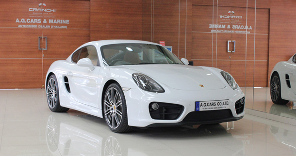 Porsche New Cayman 2015